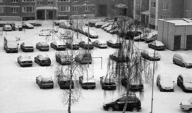 Брест 1 января 2010 года - снег, тишина, Новый год... (фото)