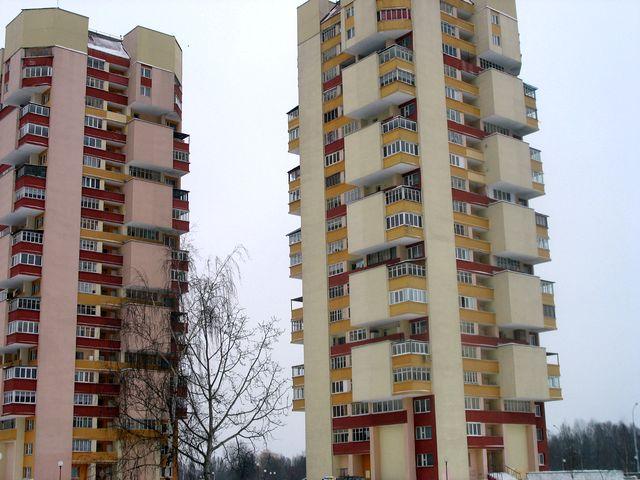 Белый, белый, белый... Брест (фото заснеженного города)