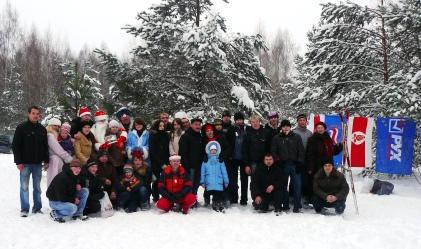 Традиционные рождественские мероприятия провели в Белоозерске члены БСДП