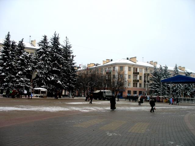 Брест, 3 января (фото)