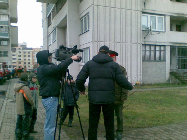 Сегодня в Бресте прошли областные соревнования среди подразделений МЧС (фото)