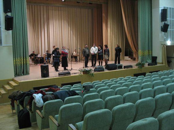 В ОКЦ прошла репетиция концерта, посвященного 70-летию Брестской области