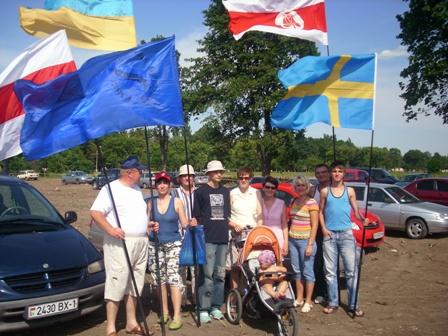 Представители ОДС Брестской области приняли участие в  Полтавской битве