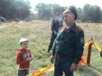 В парке Воинов Интернационалистов прошел день школьника (фото)