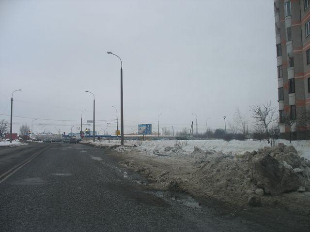 Улица Луцкая, микрорайон Ковалево, фотообзор