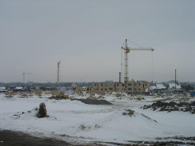 Микрорайон Вулька строится в сторону Волынки (фото)