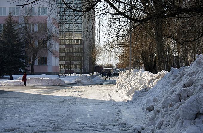 Фото-взгляд на Брест 22 февраля