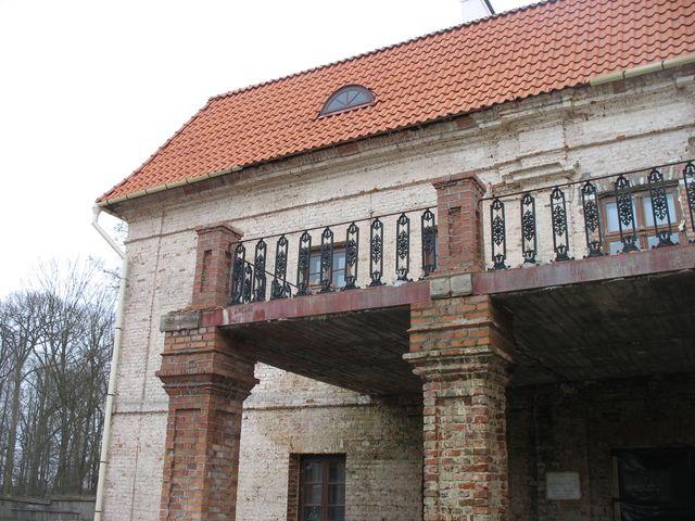д. Скоки - усадьба Немцевичей (фото) + историческое фото