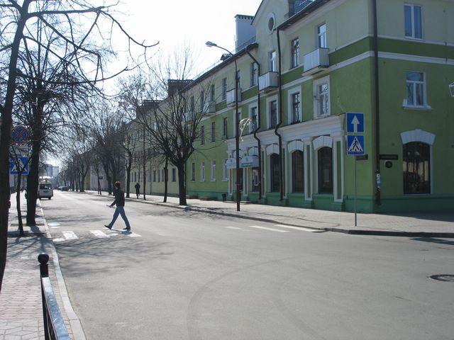 Советская - Мицкевича  перекрестка