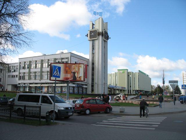 ЦУМ, Машерова и окрестности (фото)