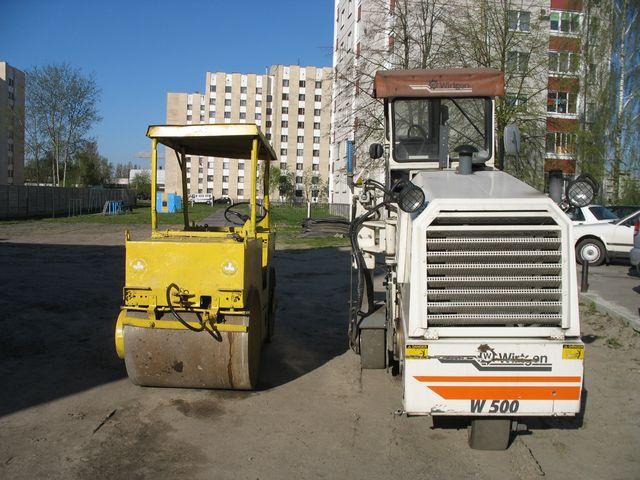 На улице Янки Купалы начали ямочный ремонт дороги, но не успели к выборам