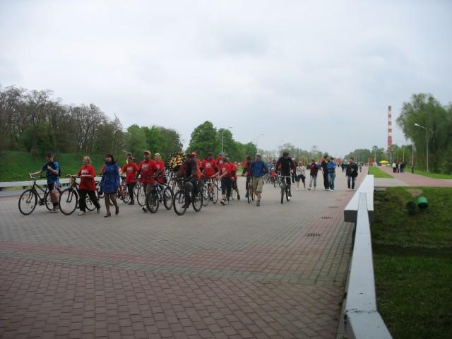 Велопробег завершился в Брестской Крепости (фото)