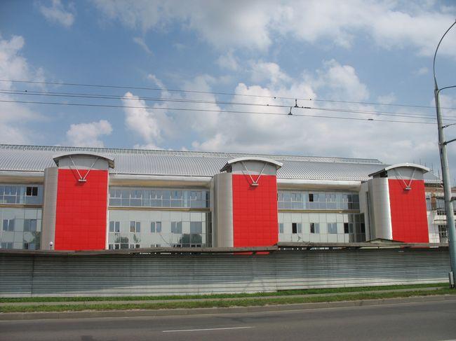 Дворец водных видов спорта - завершаются работы по внешней отделке: фото