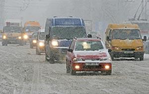 Число мелких ДТП на дорогах Брестской области из-за непогоды вчера выросло как минимум вдвое