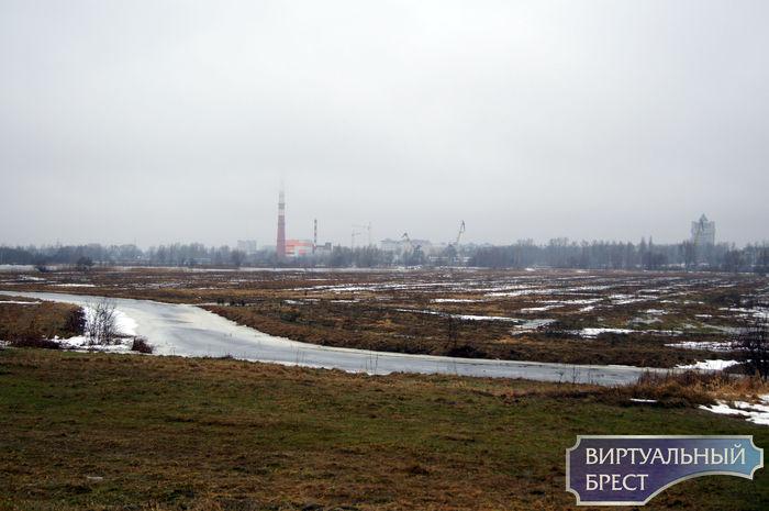 В Бресте - паводок, Мухавец вышел из берегов, люди жалуются на подтопления