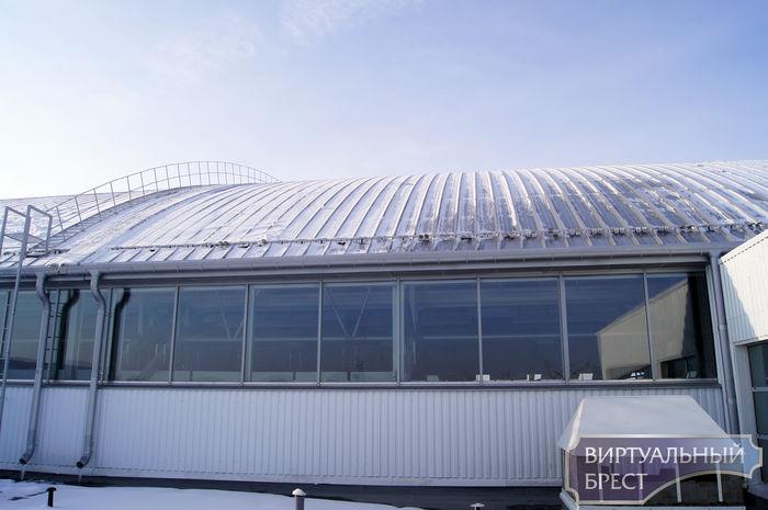 Дворец водных видов спорта - на крыше (виртуальная экскурсия)