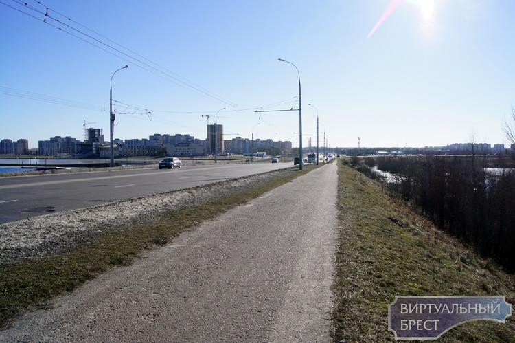 Мост через Мухавец на ул. 28 Июля - виртуальная экскурсия