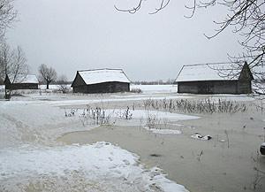 В Брестской области растет число подтопленных частных домовладений