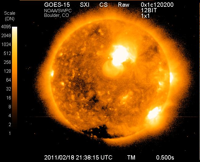Солнце бушует - в Бресте перебои с электричеством?
