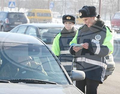 Известные девушки Бреста - сотрудник ГАИ Наталья Сахарчук