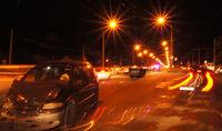 Авария около Кобринского моста в Бресте (фото и видео)