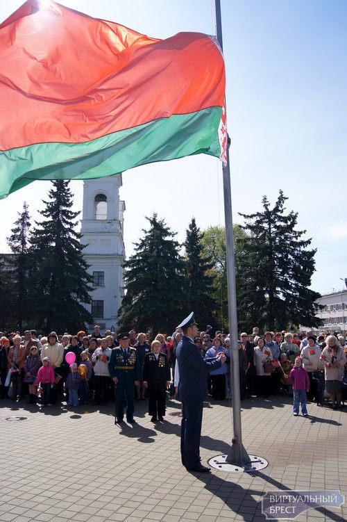 День Государственного герба и флага Республики Беларусь отметят 13 мая 2012 года в Бресте