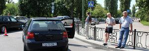 На кольце на ул. Набережная Ф.Скорины продолжаются аварии