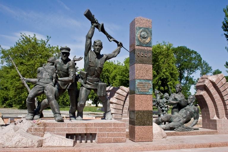 Новый памятник появился в Брестской крепости