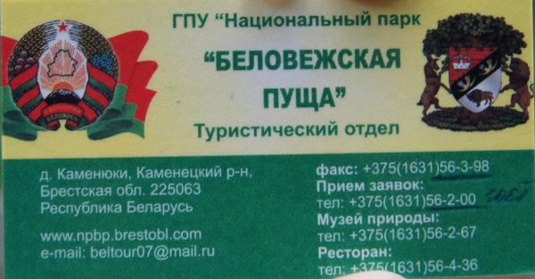 Музей Природы в Беловежской Пуще - экскурсия