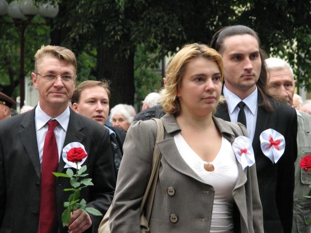 БСДП, «Справедливый мир», ОГП и кампании «Говори правду» приняли участие в торжественных мероприятиях в сквере Свободы