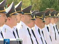 В Брестской крепости приняли присягу сотрудники областного управления Департамента финансовой милиции