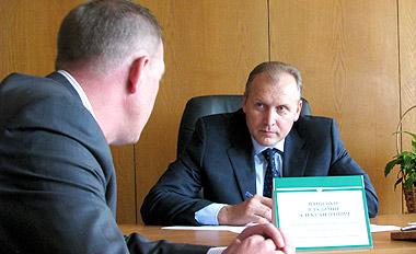 Министр МЧС провёл приём в Брестском горисполкоме