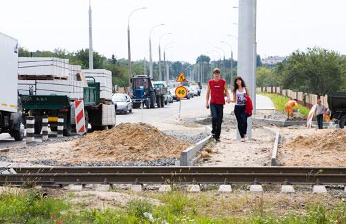 Важная транспортная артерия города грозит превратиться в долгострой