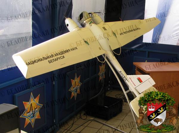 Беспилотник совершил пробный полёт над Беловежской пущей