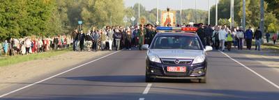 Крестный ход в честь преподобного мученика Афанасия в Бресте собрал несколько тысяч человек