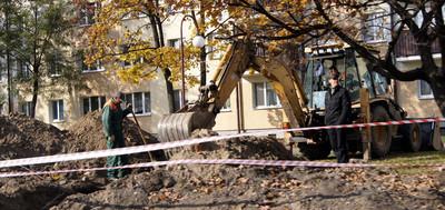 На ул. Я.Купалы активно продолжается ремонт