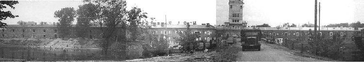 Архивные фотографии Брестской крепости и города Бреста