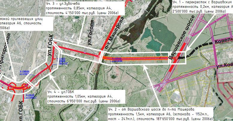 Президент Беларуси подписал указ №11 о строительстве западного обхода Бреста (схемы, планы)