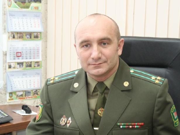 У брестских пограничников новый командир - Андрей Кукаро