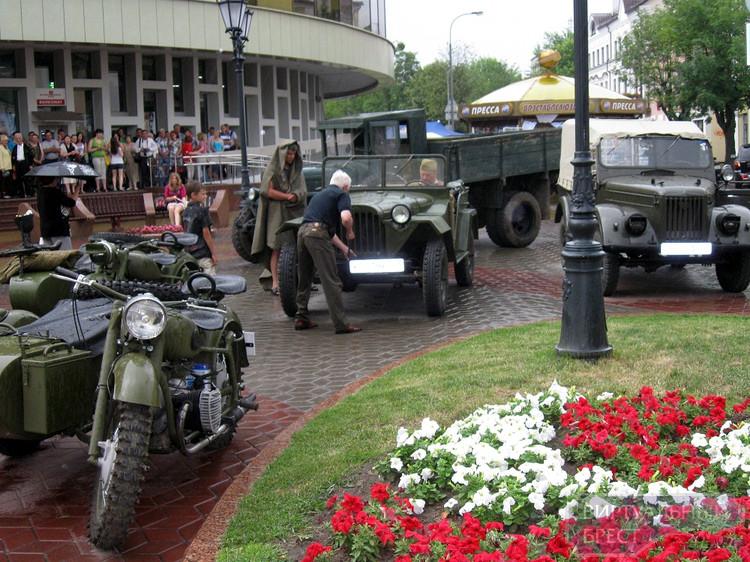 Последний мирный день перед войной... ул. Советская, 21 июня 2012 года