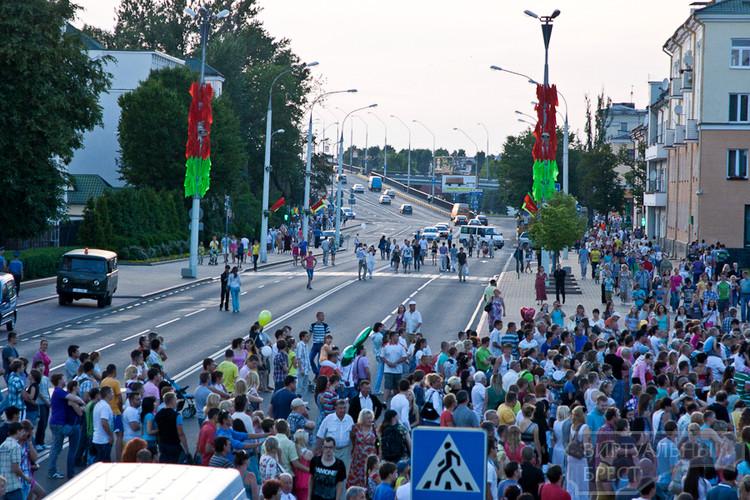 Фото, сделанные с воздушного шара на площади Ленина