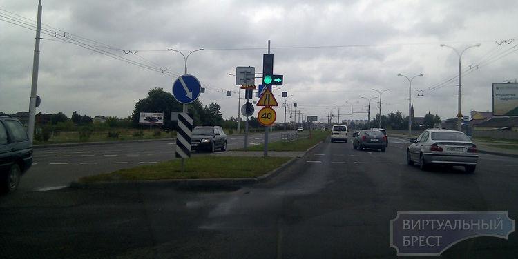 На пр. Республики ограничили скорость движения до 40 км.ч.