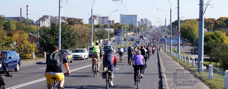 22 сентября состоится два велопробега по улицам г. Бреста