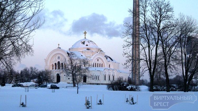 Брестская крепость зимой