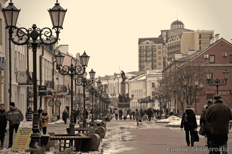 Пешком по ул. Советской с фотоаппаратом