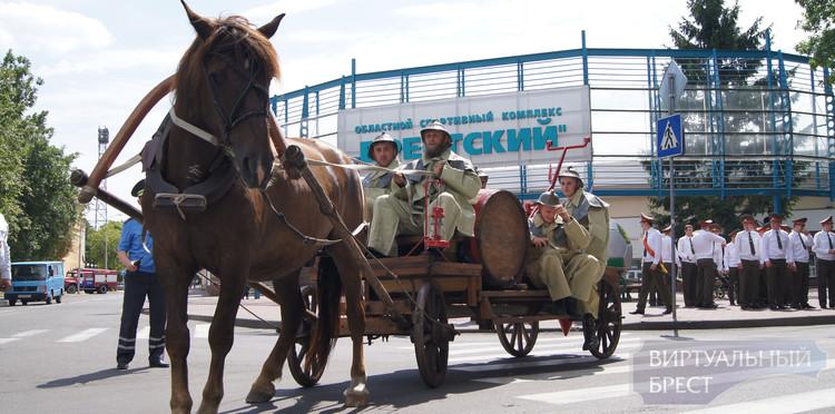 Брестчан приглашают в парк на празднование Дня пожарной службы Беларуси