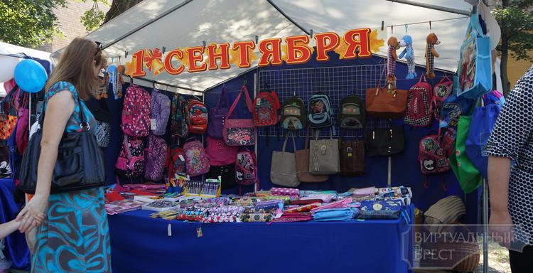 В Брестской области товары к школе продают в 680 магазинах