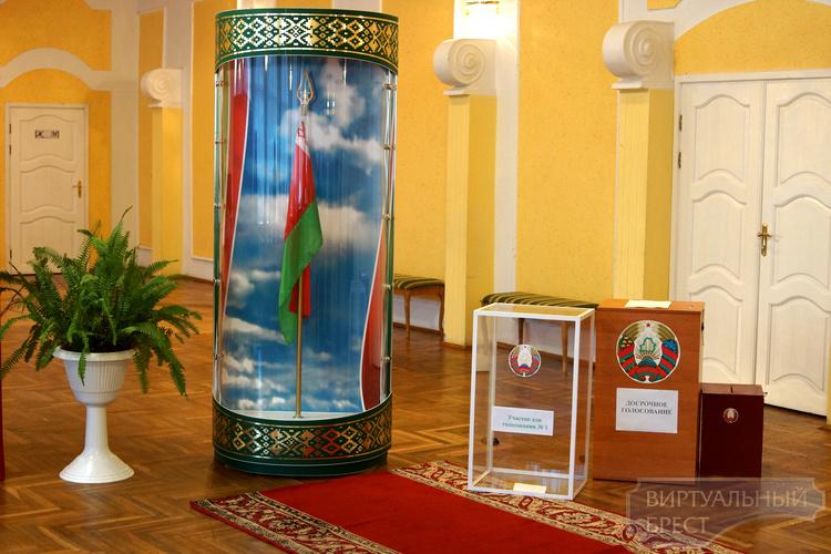 В Брестской области открылись 939 участков для голосования
