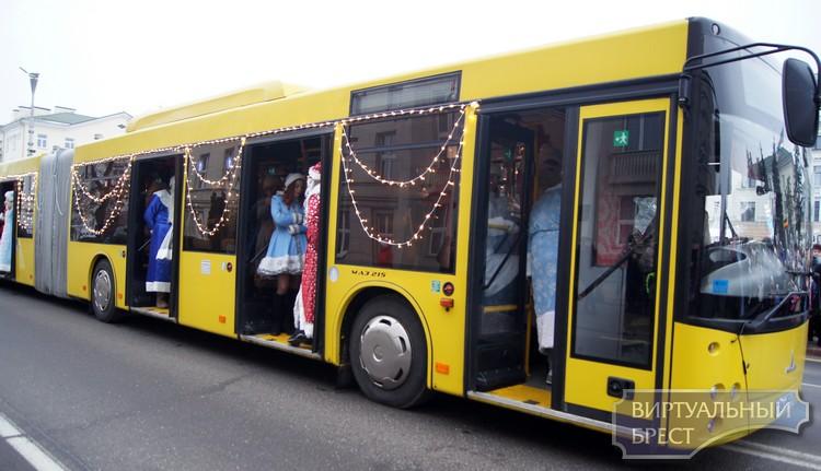 Как будет работать общественный транспорт в Новогоднюю ночь?
