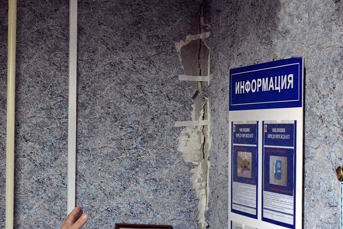 МЧС: Техническое состояние жилого дома № 8/1 по ул. Набережной в г. Бресте на контроле